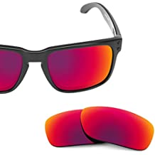 4146acca6a5a7 Polarized Replacement Lenses for Oakley Holbrook Midnight Sun MirrorShield