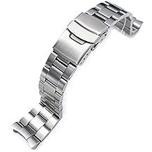 21a635ed228 Watch Bands. Apply Filter Remove Filter. 22mm Super 3D Oyster Watch Bracelet  for Seiko Diver SKX007 SKX009 7002 Curved End