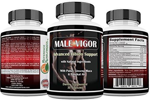 Buy Male Vigor Natural Testosterone Supplements - Best Testosterone Pills - Testosterone Booster