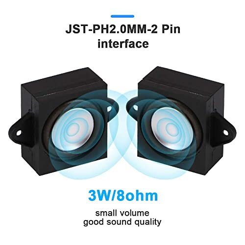 It Is Ideal For A Variety Of S Arduino Speaker 3 Watt 8 Ohm JST PH2.0 Interface