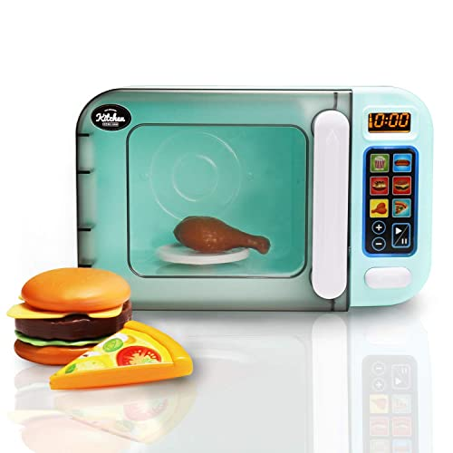 Infunbebe Jeeves Jr Kids Microwave Oven Toy Electronic Pretend