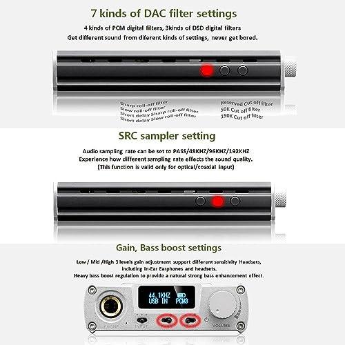 Buy xDuoo DSD DAC Portable Audio Headphone Amplifier (Black