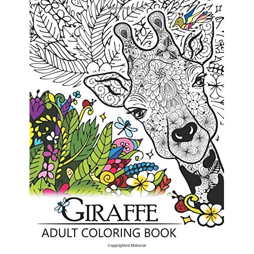 Giraffe Adult Coloring Book Designs With Henna Paisley And Mandala Style Patterns Animal Coloring Books Paperback April 5 2017 Buy Products Online With Ubuy Uae In Affordable Prices 1545158142