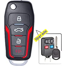 15-20 GMC Yukon XL HYQ1AA KeylessOption Keyless Entry Remote Start Smart Car Prox Key Fob W//Key for 15-19 Chevy Tahoe Suburban Pack of 2