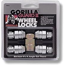 Gorilla Automotive 26043SD Small Diameter Duplex Open End Chrome Lug Kit 14mm X 1.50 Thread Size -Pack of 20