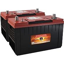 VMAX MR86-50 12V 50AH AGM Deep Cycle Battery for 36lb Thrust Trolling Motors