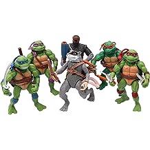 "- Michelangelo 7/"" Action Figure RS -NEC5... Teenage Mutant Ninja Turtles 1990"