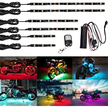 2X GTP 4ft LED Whip Lights 20 Color RGB Waterproof Lighted Antenna Whips Flag Pole for UTV ATV Polaris RZR 4 Wheeler Offroad Jeep Can-am Maverick X3 Yamaha Sand Dune Buggy 4X4 Truck 21 Modes