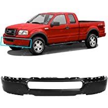 FO1002426 MBI AUTO Primered Steel Front Bumper Face Bar Shell for 2015 2016 2017 Ford F150 Pickup W//Fog 15 16 17