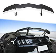 SCITOO Replacement fit for Black Unpainted Spoiler Wing Factory Style 2006-2010 Dodge Charger 57 Inch x 7.28 Inch